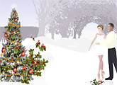 Winter Wonderland - animated Christmas ecard by Ojolie.com from ojolie.com